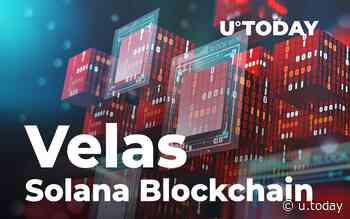 Velas (VLX) Expands on Solana (SOL) Blockchain, Introduces Ethereum (ETH) Compatibility - U.Today - IT, AI and Fintech Daily News for You Today