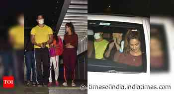 Tiger-Disha get snapped post their dinner date