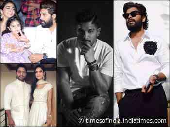 Pics: Allu Arjun aces the fashion game in white