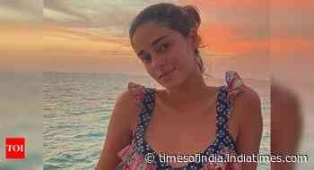 Ananya's stunning pics from Maldives