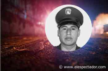 Confirman muerte de patrullero tras persecución en Piendamó, Cauca - El Espectador