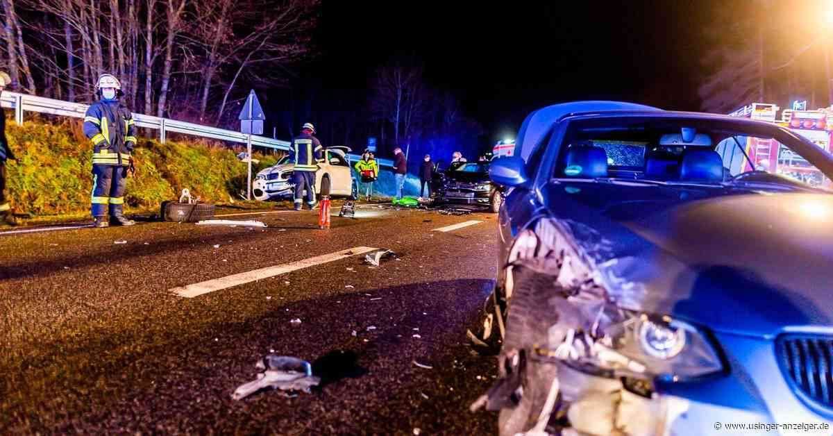 Friedrichsdorf: LKW-Fahrer verursacht Unfall und flüchtet - Usinger Anzeiger