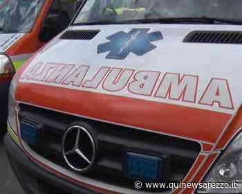 Scontro tra auto, tre i feriti - Qui News Arezzo