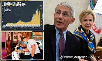 Covid US: Dr Fauci says it's 'possible' US has its own super-strain