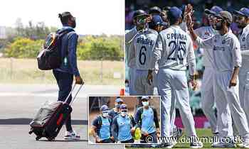 Indian cricket team unhappy with Brisbane hotel quarantine as they're made to make their beds