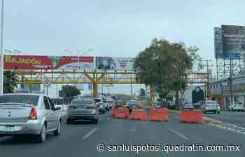 Cierre parcial en Salvador Nava por obras - Noticias de San Luis Potosí - Quadratín San Luis