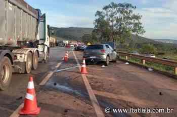 Após ser interditada devido a acidente, BR-040, em Nova Lima, já está totalmente liberada - Rádio Itatiaia