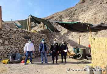 Ica: Intervienen equipos de mineros ilegales en Palpa - INFOREGION