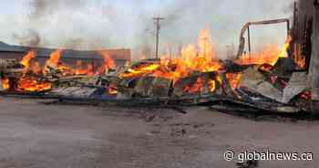 Arson suspected in fire that destroyed Eriksdale store - Globalnews.ca