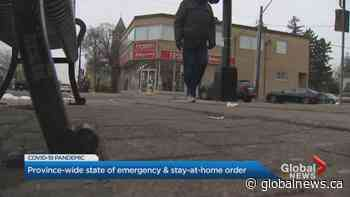 Ontario government promises heightened enforcement during COVID-19 emergency