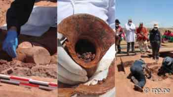 12 fotos del revelador hallazgo que abre una nueva página en la historia de la cultura Tiahuanaco - RPP Noticias