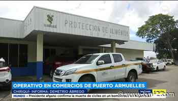 Decomisan alimentos sin registros sanitarios en comercios de Puerto Armuelles y David - TVN Noticias