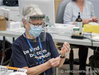COVID-19 vaccinations top 60,000 in B.C., more on the way