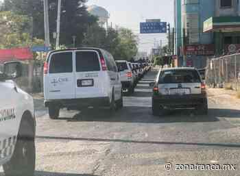 Llega en convoy la Comisión Nacional de Búsqueda a Cortazar - Zona Franca