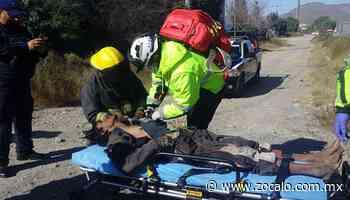 Recibe indigente descarga al recuperar botín en Saltillo - Periódico Zócalo