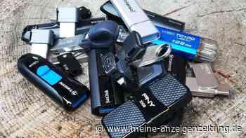 Schnell abgespeichert: USB-Sticks im Test