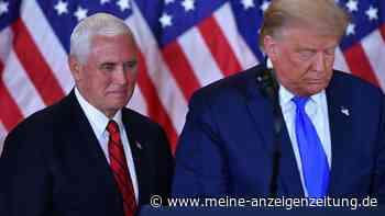 Trump-Impeachment: Pence gibt wichtige Entscheidung über Absetzung bekannt - Erste Abstimmung noch heute