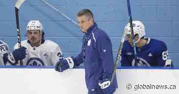 Not only goalies wear masks: NHL coaches must cover faces