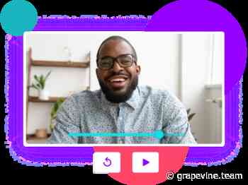 Grapevine 2.0 - Schedule fewer zoom meetings with one-way video updates
