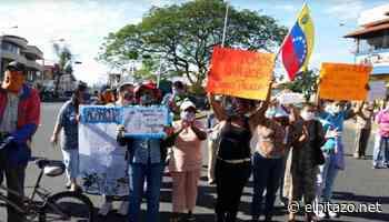 Vecinos protestan en cuatro puntos de Acarigua para exigir agua - El Pitazo