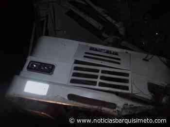 Vuelco de un autobús deja 19 heridos en la carretera Barquisimeto – Acarigua - Noticias Barquisimeto