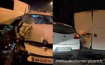 Une automobiliste perd le contrôle à Sailly-Flibeaucourt - Courrier Picard