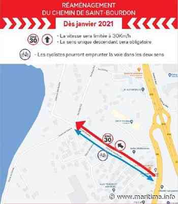 Vitrolles - Vie des communes - Vitrolles : des travaux de réfection sur le chemin Saint-Bourdon - Maritima.Info - Maritima.info