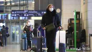 Kabinett billigt Verordnung: Testpflicht für Reisende wird verschärft