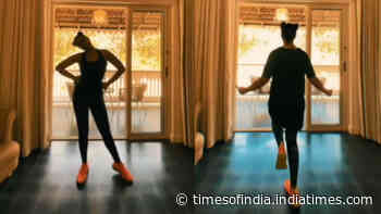 Sonakshi Sinha sheds major fitness goals with her recent workout video! Check out