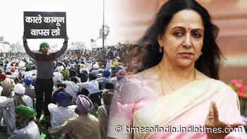 Farmers' protest: Hema Malini says protestors are following someone else's instructions; 'They do not even know what they want'