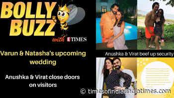 Bolly Buzz: Varun Dhawan's upcoming wedding; Virat Kohli and Anushka Sharma close doors on visitors