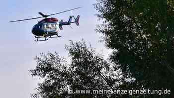 Mann verschwindet plötzlich - Polizei durchsucht Waldstück