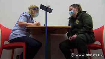 Inside Newcastle's Covid mass vaccination centre