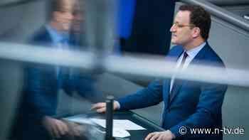 """Strategie verteidigt: Spahn will """"Impfangebot an alle"""" im Sommer"""