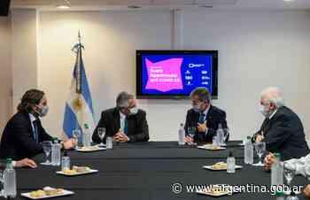 El Presidente recorrió los laboratorios de la Universidad de San Martín donde se desarrolló el suero hiperinmune anti COVID-19 - Argentina.gob.ar Presidencia de la Nación