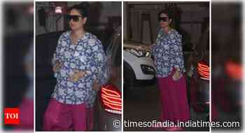 Pics: Kareena steps out in a stylish outfit