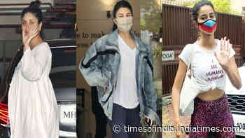 From Jacqueline Fernandez to Ananya Panday, celebs spotted in Mumbai