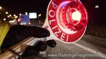 Polizei erwischt in Bad Berka sächsischen Ausflügler - Thüringer Allgemeine
