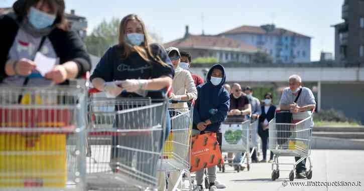 """Fanno la spesa insieme al supermercato: multa di 400 euro a Rovigo. """"Sono entrato solo per dare il bancomat a mia moglie"""""""