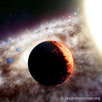 Rocky Planet Found Around 10 Billion-Year-Old Star