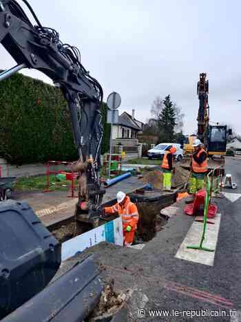 Essonne : les travaux continuent rue Panserot à Lardy - Le Républicain de l'Essonne