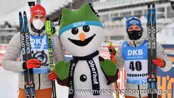 Biathlon: Podest-Knoten geplatzt - Peiffer und Lesser glänzen in Oberhof