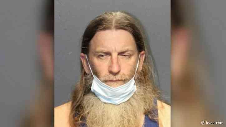 Man wearing 'Camp Auschwitz' sweatshirt during Capitol riot arrested