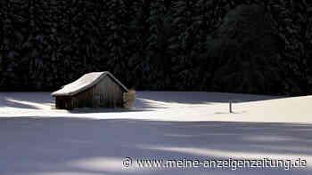 Wetter-Warnung amtlich! Schneewalze überzieht Bayern heute noch - große Gefahr droht