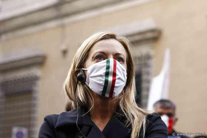 """Vertice del centrodestra, Meloni: """"Conte si dimetta. Elezioni subito"""""""
