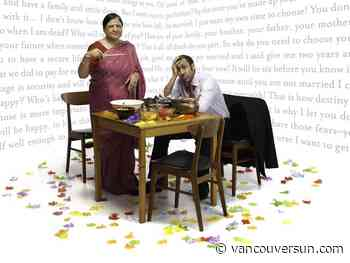 A Brimful of Asha gets different laughs depending on which side of the table you're sitting on