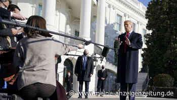 """Trump-Impeachment: Abstimmung noch heute - Top-Republikaner mit weitreichendem Statement - """"trägt Verantwortung"""""""