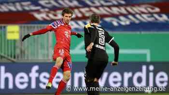 FC Bayern bei Holstein Kiel JETZT im Live-Ticker: Irreguläres Tor zählt - forsche Störche liefern Pokal-Fight