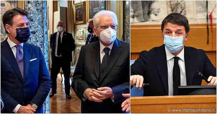 """Crisi di governo, la diretta – Renzi ritira le sue ministre dal governo. Il premier: """"Grave responsabilità di Italia viva, danno al Paese. Mai sottratto al confronto ma terreno era minato"""""""