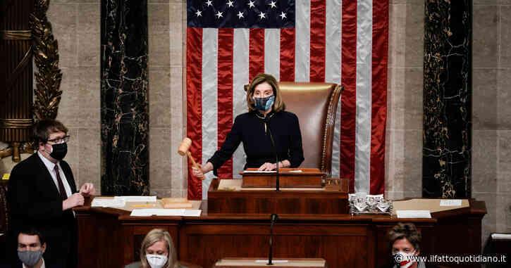 Stati Uniti, la Camera approva la mozione di impeachment contro Trump per l'assalto al Congresso